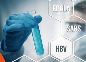infectious disease testing of SARS-CoV-2, COVID-19, EBOLA, HIV, HBV, Influenza via NGS amplicon sequencing