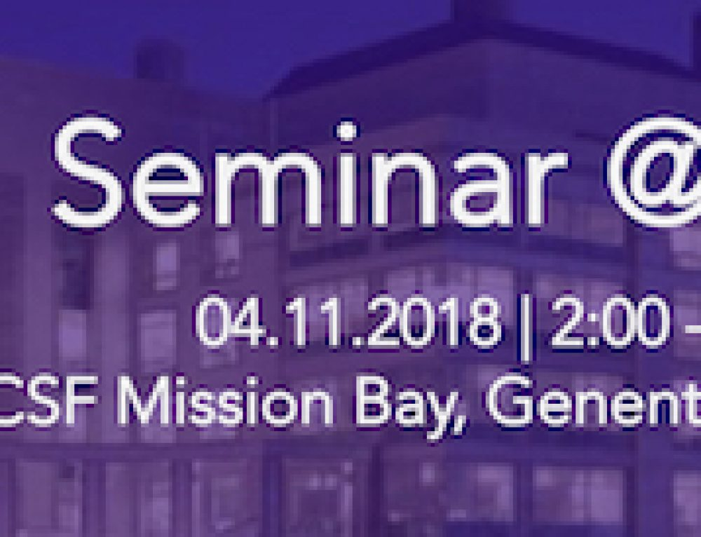 Seminar @ UCSF – Ultra-fast duplex sequencing library preparation for ctDNA analysis
