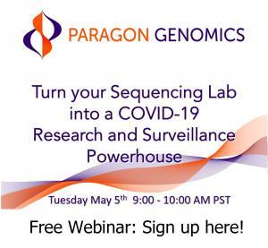 Paragon Genomics COVID-19 Webinar for Sequencing SARS-CoV-2 viral genome