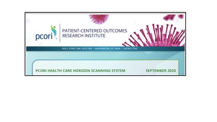 PCORI Health Care Horizon Scanning System