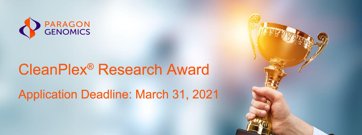 CleanPlex NGS Research Award for Clinical Cancer Research